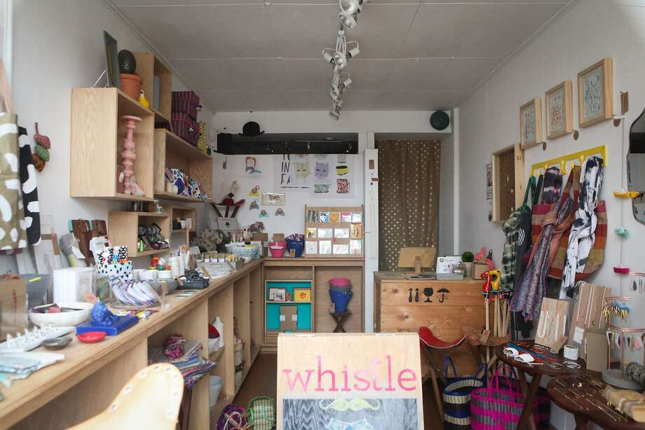 Whistle, which opened in 2013, is a boutique that showcases unique finds from around the globe.  Katie Gaertner, the owner, draws upon her experience as a buyer and merchandiser for several Bay Area retail establishments to identify some of the worlds best handcrafted products. Photo: Cameron Robert, The Chronicle