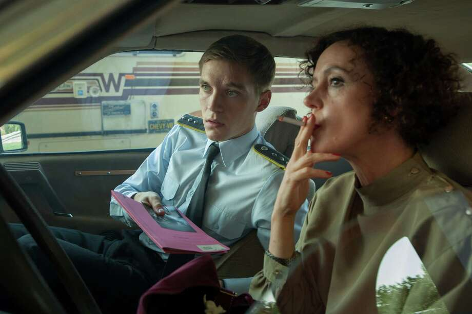 "Jonas Nay and Maria Schrader star in ""Deutschland 83,"" an eight-part German television series. It is set in the last throes of the Cold War and combines humorous and soap-operatic elements. Photo: CONNY KLEIN, HO / CONNY KLEIN"