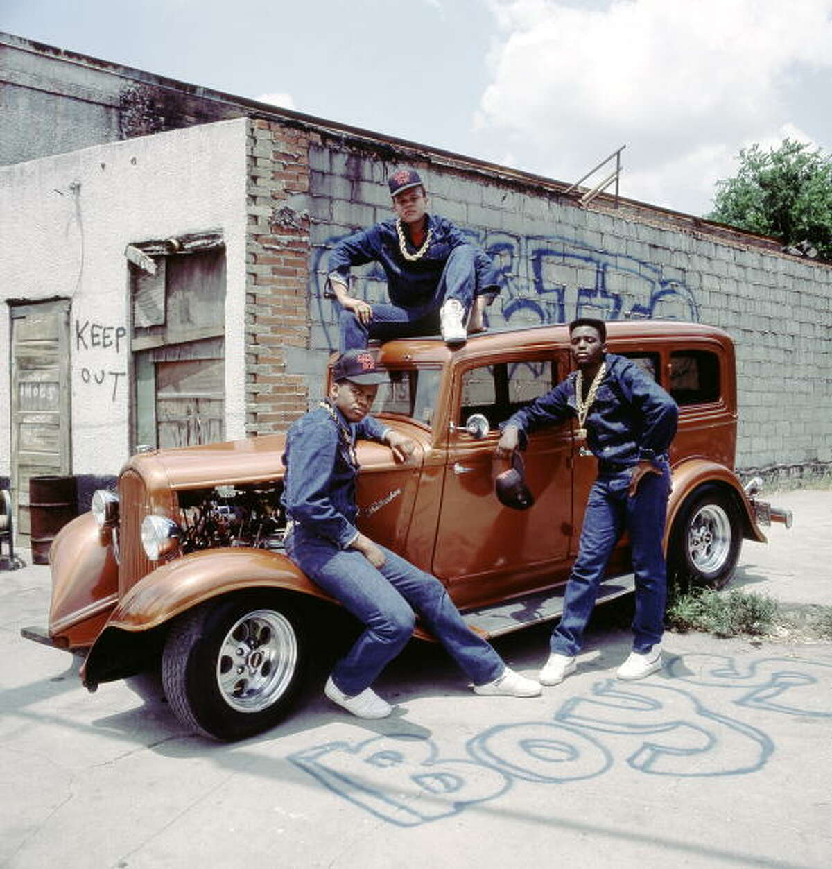 Early Ghetto Boys lineup - before they were known as Geto Boys - didn't include Scarface, Willie D or Bushwick Bill. The group -- Raheem, DJ Ready Red and Sir Rap-A-Lot -- released the single