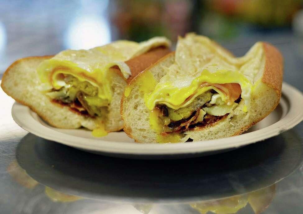 Best sandwich shop: 2. Halfmoon Sandwich & Salad Shoppe, 1613 Route 9, Clifton Park.
