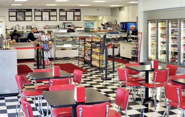 Interior of the Halfmoon Sandwich & Salad Shoppe on Route 9 Tuesday May 26, 2015 in Clifton Park, NY. (John Carl D'Annibale / Times Union) Photo: John Carl D'Annibale / 00031952A