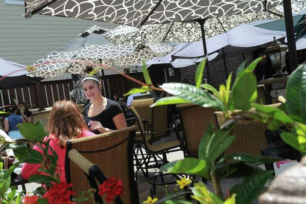 Lanie's Cafe patio on Friday May 22, 2015 in Colonie, N.Y. (Michael P. Farrell/Times Union) Photo: Michael P. Farrell / 00031953A