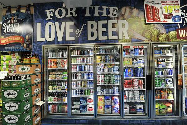 Beer cooler at Oliver's Beverage Center on Friday, May 22, 2015 in Albany, N.Y. (Lori Van Buren / Times Union)