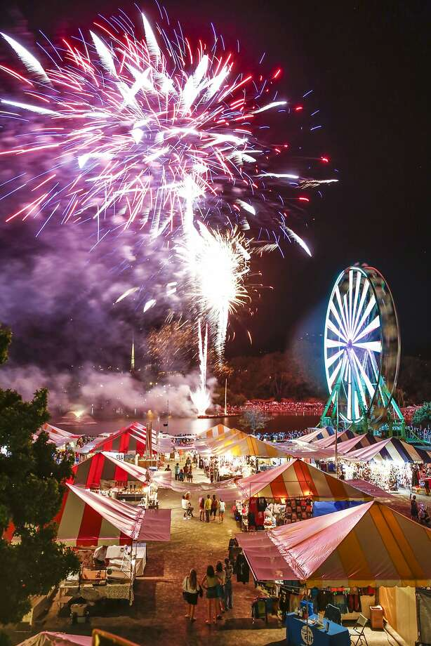 Marin County Fair in San Rafael: If you're looking to catch firework shows on days other than just July 4, then this one's for you. The Marin County Fair will run through June 30 to July 4 with firework displays every night at 9:30 p.m. Enjoy food and games for the whole family. Photo: Marin County Fair