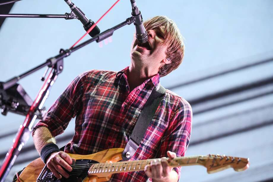 Ben Gibbard of Death Cab for Cutie: The band is bringing its modern Americana to Berkeley. Photo: Rich Fury, Associated Press