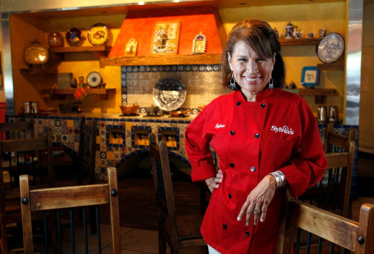 Sylvia Casares, chef and owner of Sylvia's Enchilada Kitchen, 6401 Woodway.