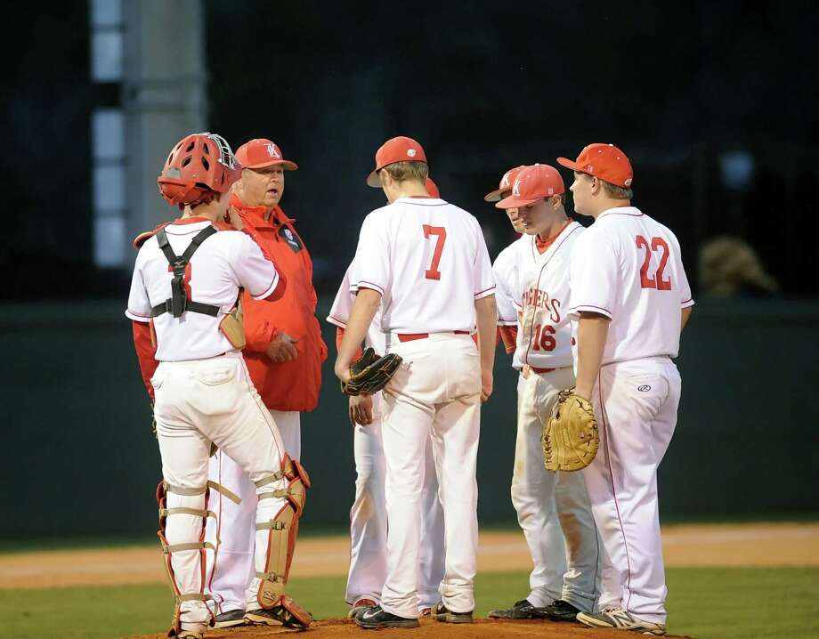 The Katy baseball program self-reported possible UIL rules violations, with a district executive committee hearing scheduled for next week. Photo: Eddy Matchette, Freelance / Freelance