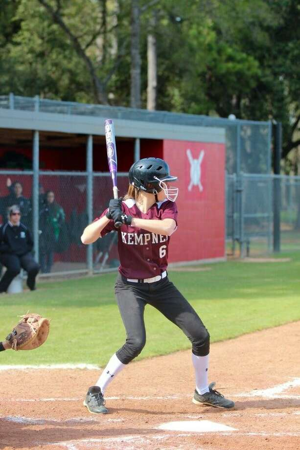 Katrin James hit .352 as a senior with 20 RBIs as Kempner made the playoffs for the second time in her varsity career. Photo: Courtesy Katrin James / Handout