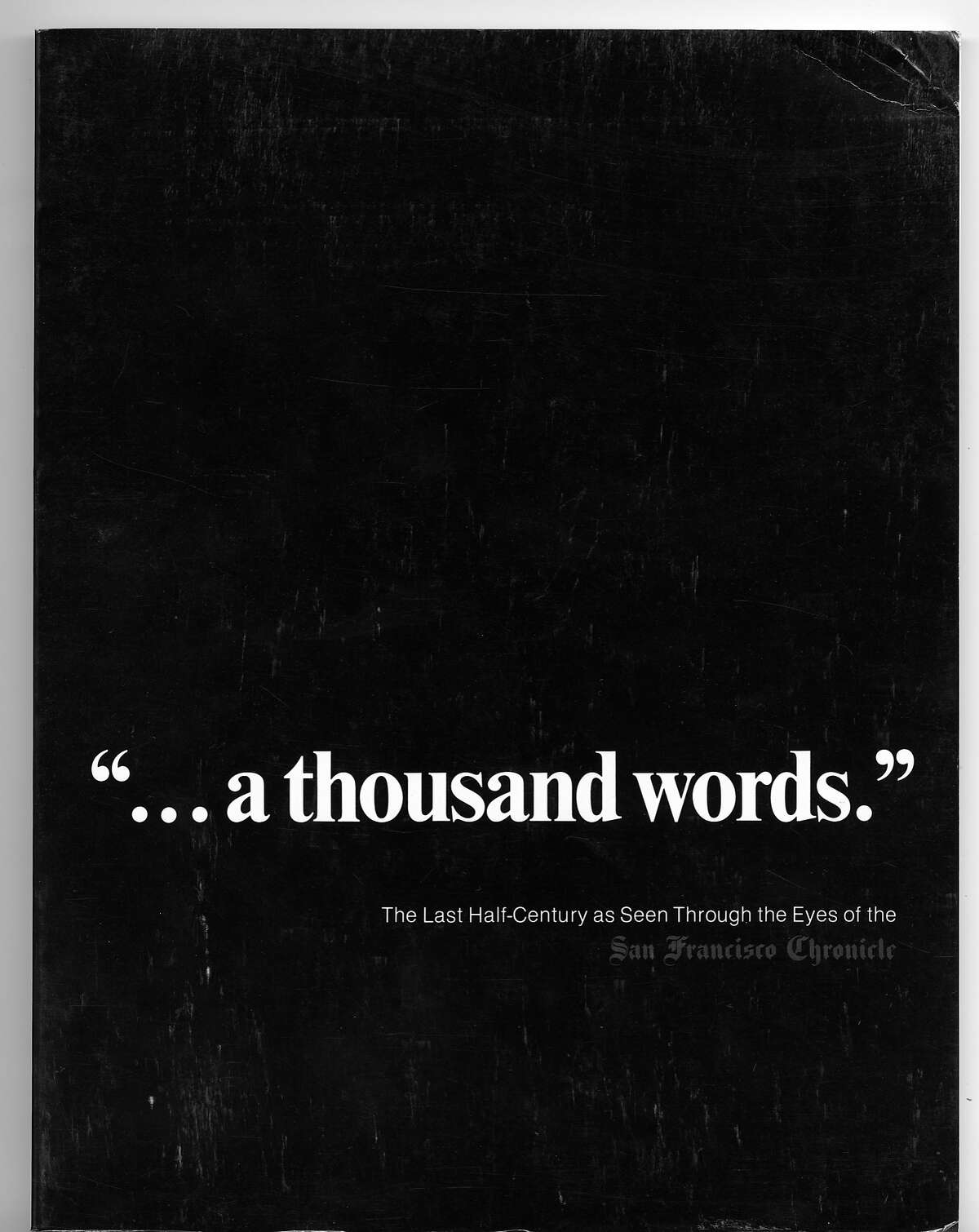 """The Chronicle Book of Photos """".. a thousand words."""" Published 1977"""