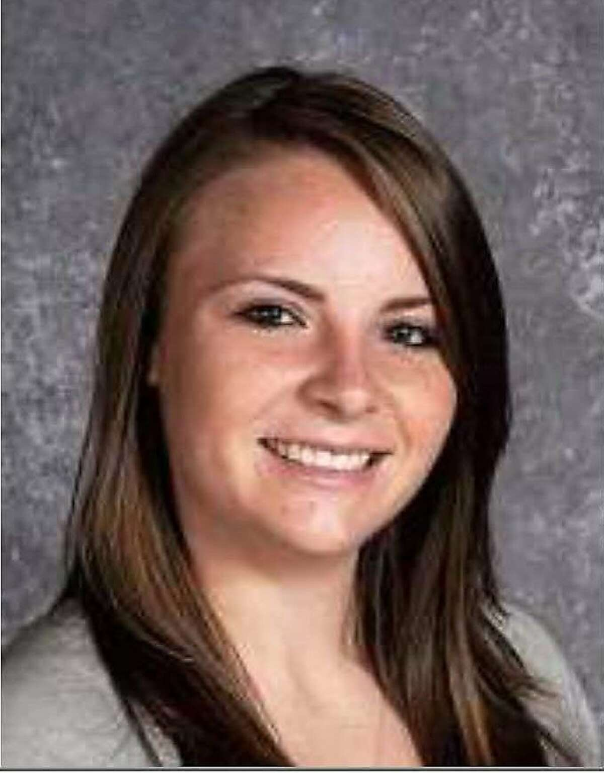 A yearbook photo from Rancho Cotate High School in Rohnert Park shows Ashley Donohoe, who died June 16, 2015 in a balcony collapse in Berkeley. She was 22.