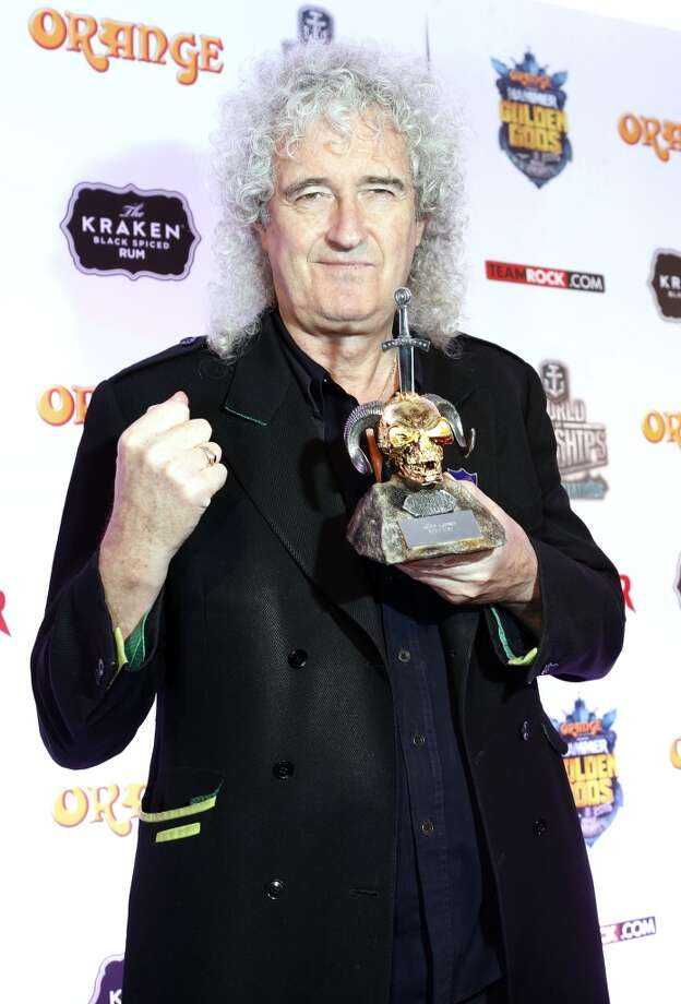 It might have taken him 30 years to complete it, but Queen's Brian May received his doctorate in astrophysics from Imperial College London.  Photo: Chiaki Nozu, Getty Images