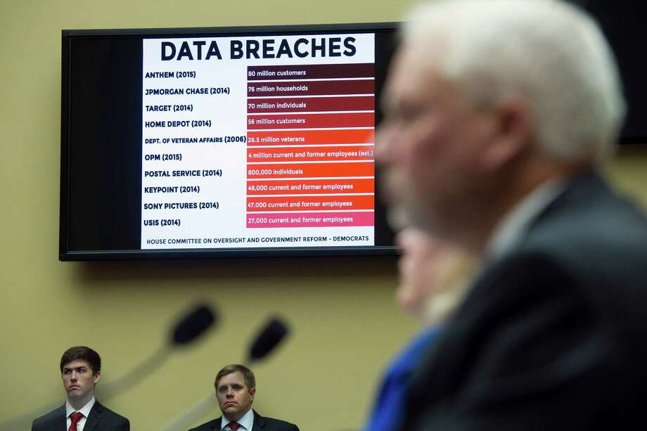 Witnesses testify before the House Oversight and Government Reform committee's June 2015 hearing on the Office of Personnel Management data breach. Photo: Cliff Owen, FRE / FR170079 AP