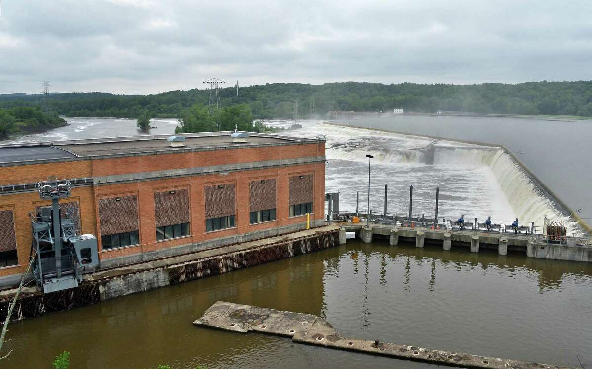 New York Power Authority's Vischer Ferry hydro power plant Tuesday June 16, 2015 in Rexford, NY. (John Carl D'Annibale / Times Union)
