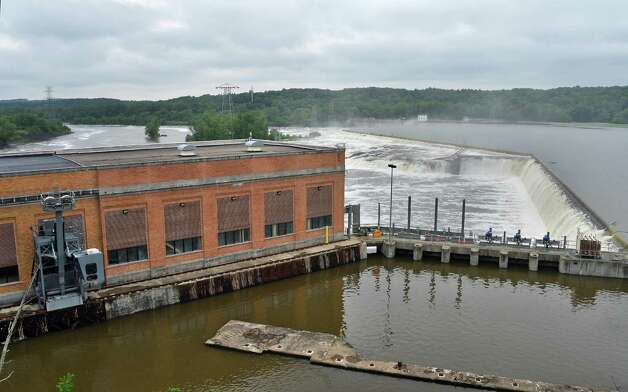 New York Power Authority's Vischer Ferry hydro power plant Tuesday June 16, 2015 in Rexford, NY.  (John Carl D'Annibale / Times Union) Photo: John Carl D'Annibale / 00032301A