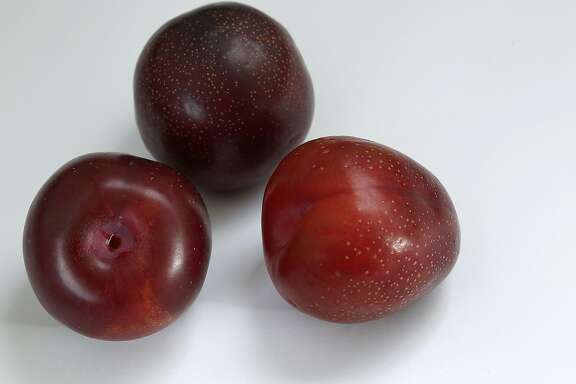 Plums for preserves grouped on Tuesday, June 16, 2015.