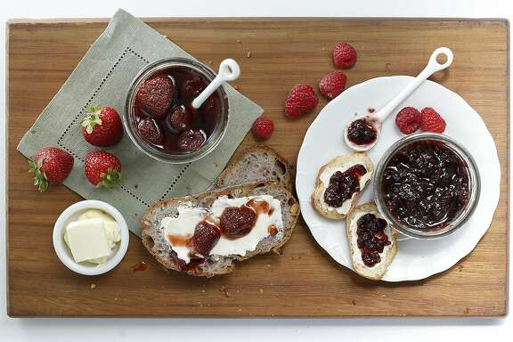 Preserves and ingredients by Jillian Welsh on Tuesday, June 16, 2015.