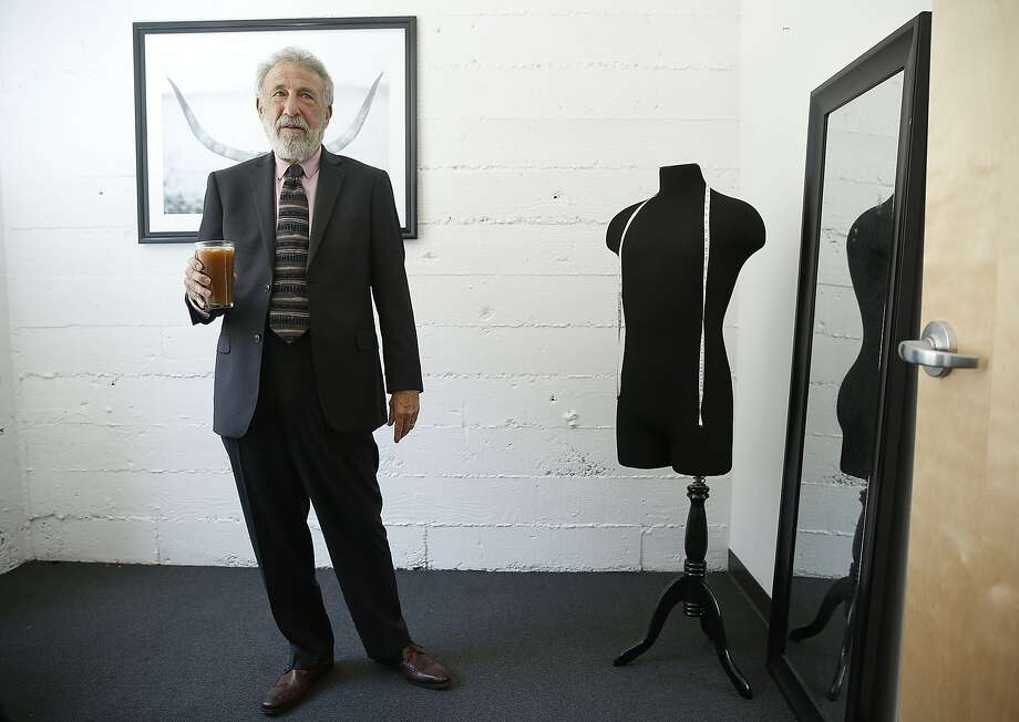 Men's Wearhouse founder George Zimmer recently launched zTailors, a national, on-demand digital network of tailors, for clothing alteration services at affordable prices and talks about the business on Tuesday, June 16, 2015. Photo: Liz Hafalia, The Chronicle