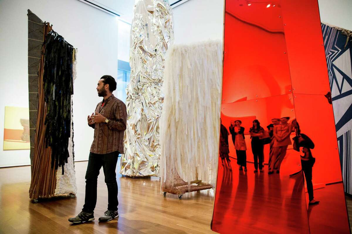 A selection of contemporary African art exhibitions that will be shown during a media preview of the newly installed SAM
