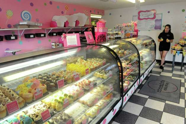 A large selection of cupcakes, cookies and cakes at Coccadotts bakery on Tuesday June 16, 2015 in Albany, N.Y.  (Michael P. Farrell/Times Union) Photo: Michael P. Farrell / 00032310A