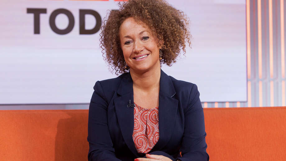 "Former NAACP leader Rachel Dolezal appears on the ""Today"" show set in New York. (Anthony Quintano/NBC News via AP) Photo: Anthony Quintano, HONS / NBC News"