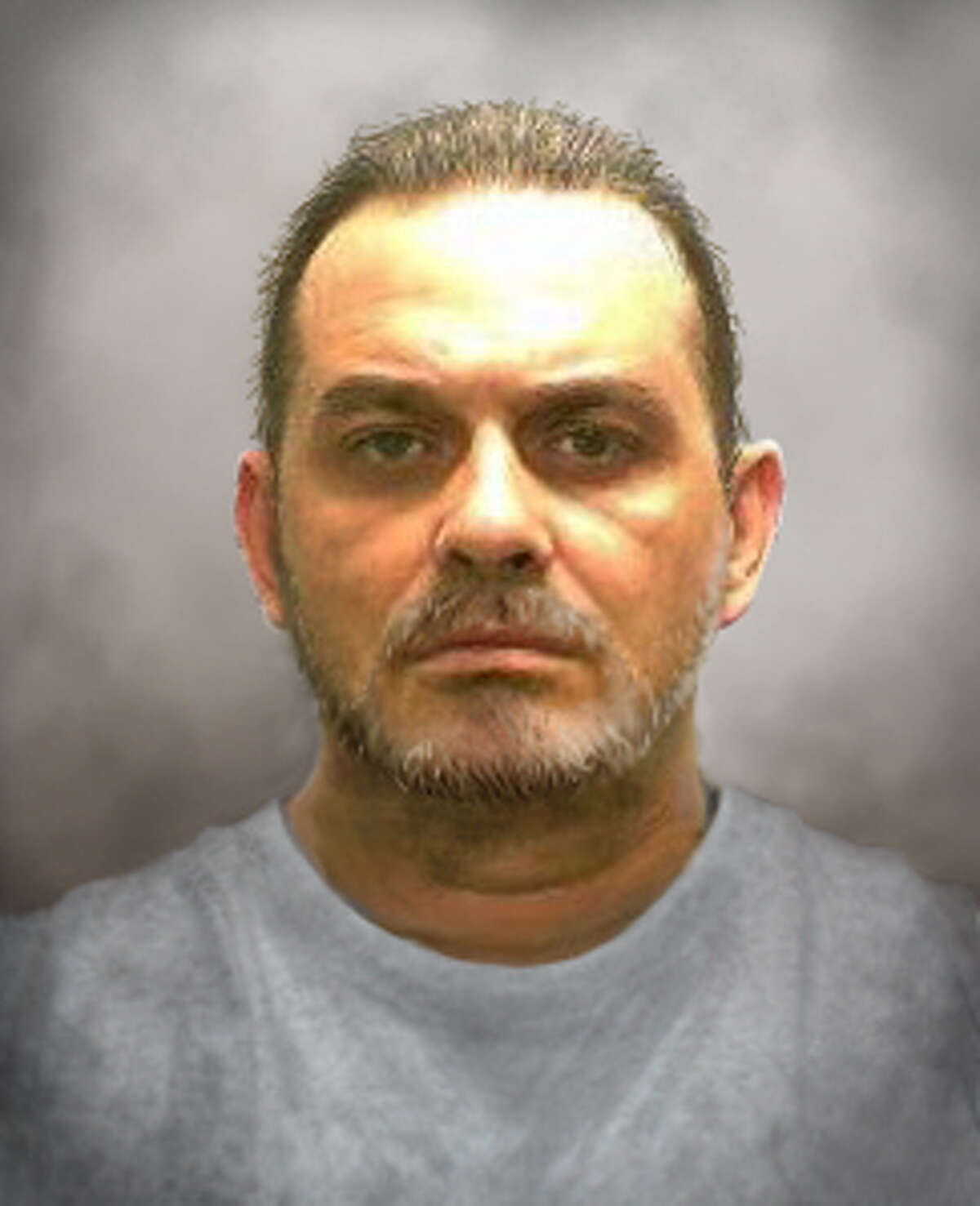 State Police on Wednesday, June 17, 2015, releasied progression photos of what Richard Matt might look like 10 days after escaping from Clinton Correctional Facility in Dannemora. (State Police drawing)