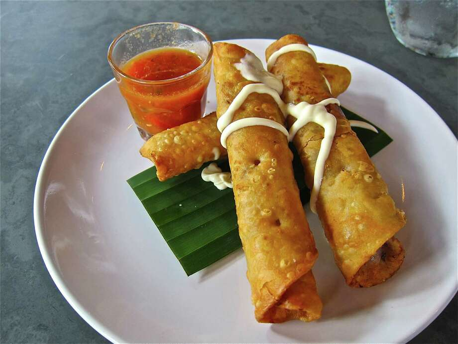 The taquitos at Cuchara. Photo: Alison Cook
