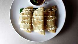 Quesadillas at Cuchara Friday, Nov. 9, 2012, in Houston. ( Johnny Hanson / Houston Chronicle )