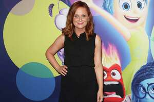 "SYDNEY, AUSTRALIA - JUNE 15:  Amy Poehler arrives at the Australian premiere of ""Inside Out"" at Event Cinemas George Street on June 15, 2015 in Sydney, Australia.  (Photo by Brendon Thorne/Getty Images)"