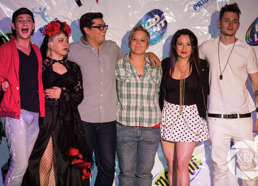 Pride Superstar 2015 semifnalists, from left, Michael Chiavone, Gin Martini, David Dominguez, Whitney Lane Goines, Melissa Ragsdale Darragh and Christian Balzano.