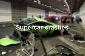 Supercar crashes that made headlines around the world.