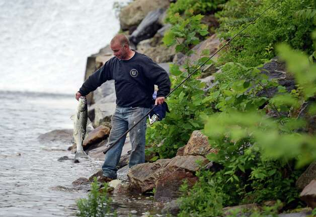 State offers free fishing license for father s day newstimes for Free fishing spots near me