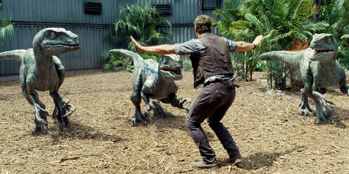 Chris Pratt is surrounded by raptors in ?
