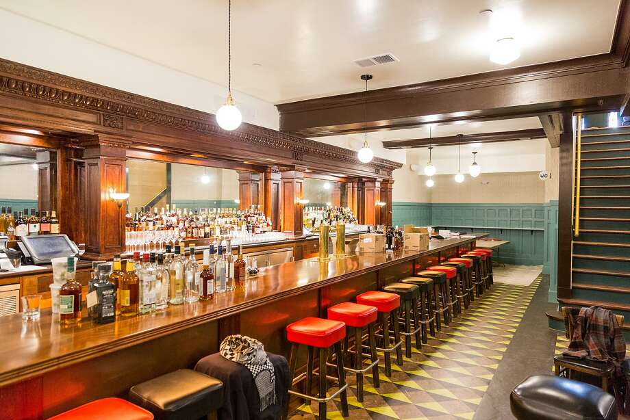 The long subterranean bar. Photo: Jason Henry, Special To The Chronicle