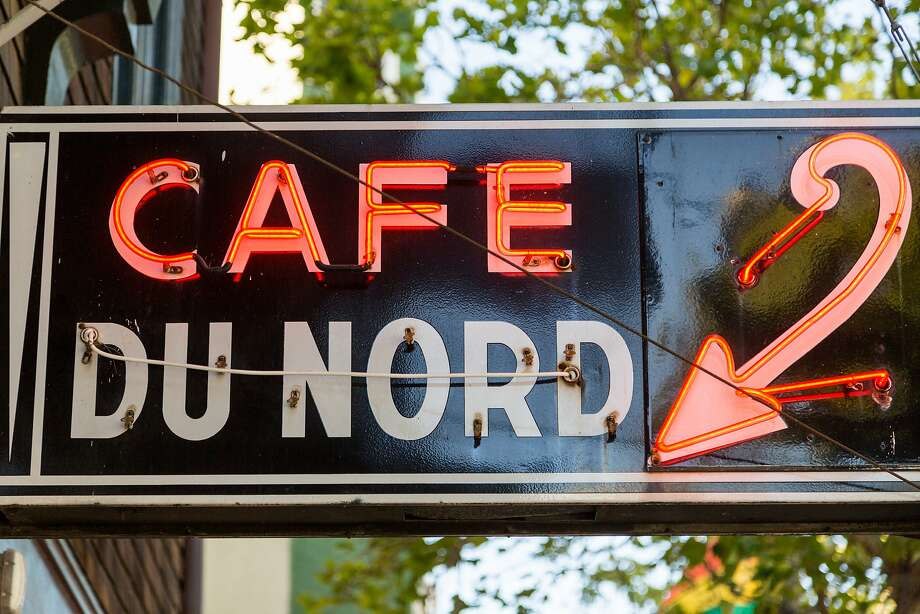 The famous neon sign outside at the newly renovated Cafe du Nord in San Francisco. Photo: Jason Henry, Special To The Chronicle