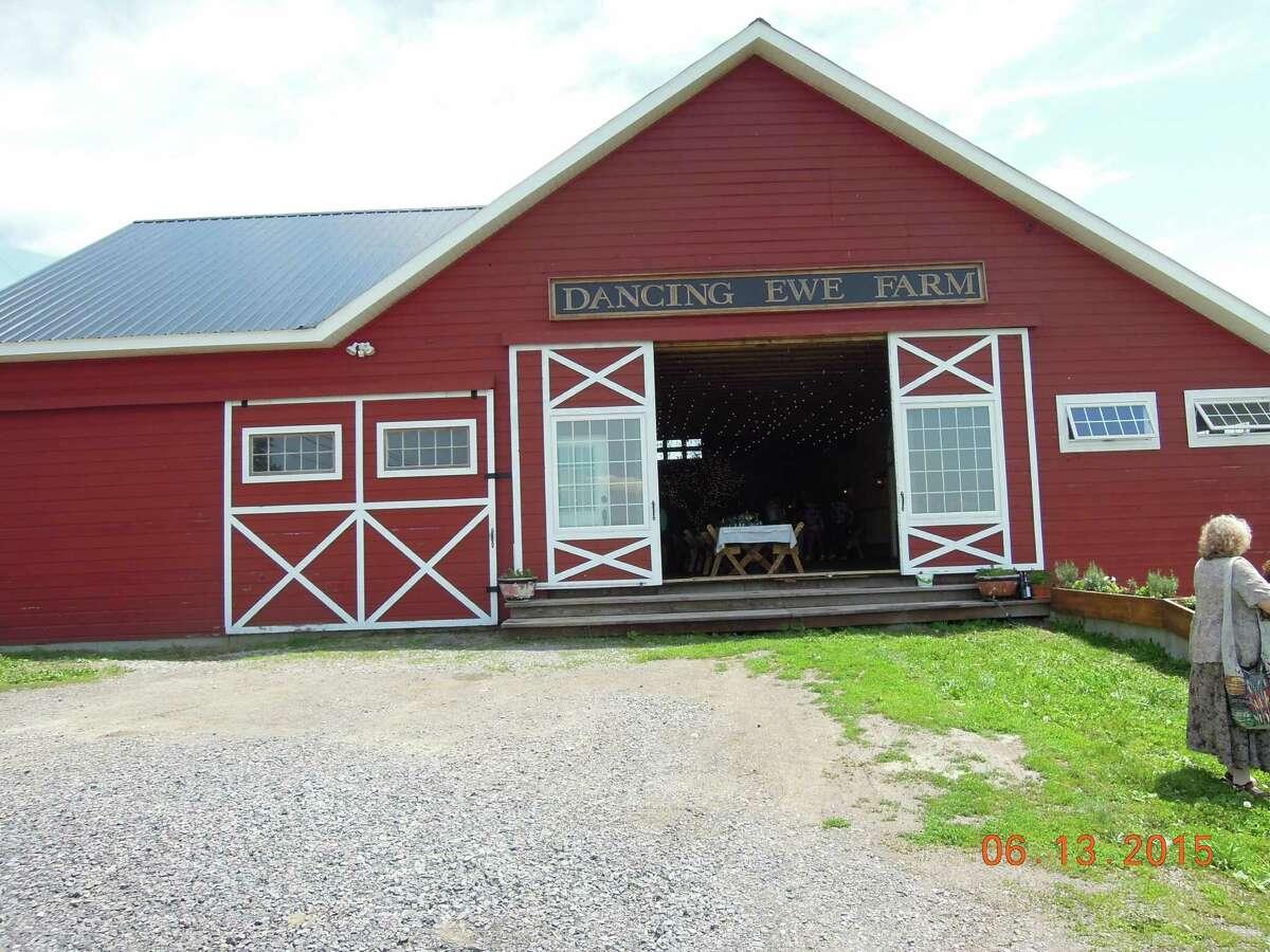 Dancing Ewe Farm is located in Washington County. (Cecily Bailey)