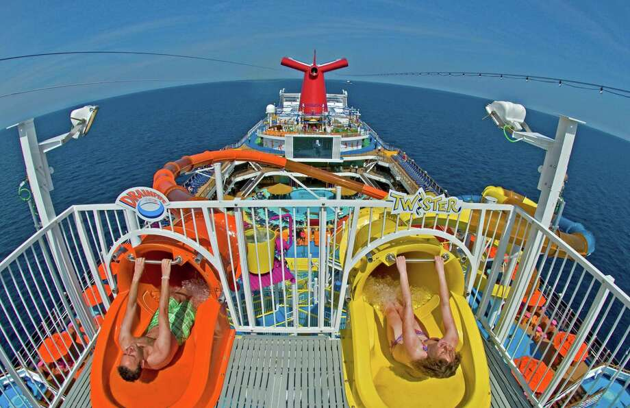 Travel Trend Cruise Ships Wage Water Slide War Houston