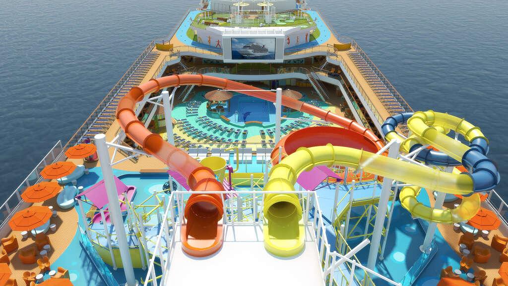 Travel Trend Cruise Ships Wage Water Slide War Houston Chronicle - Cruise ship slide