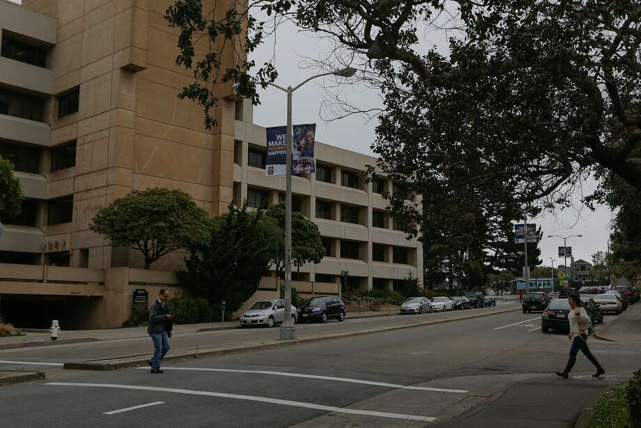 Holloway Avenue by the San Francisco State University administration building in San Francisco, California, is seen on Tuesday, June 16, 2015. A rape was reported at one of the university dormitories Saturday. Photo: Loren Elliott, The Chronicle