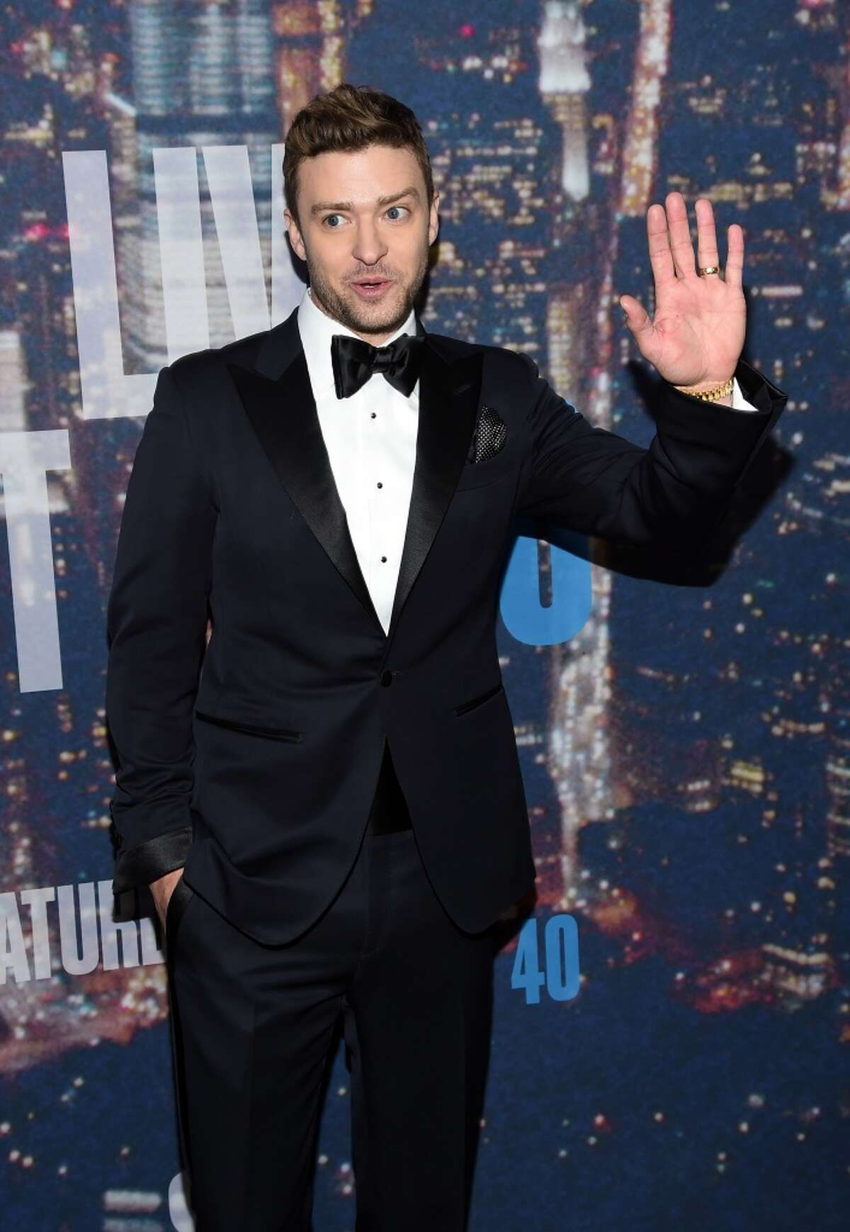 NEW YORK, NY - FEBRUARY 15: Justin Timberlake attends SNL 40th Anniversary Celebration at Rockefeller Plaza on February 15, 2015 in New York City. (Photo by Larry Busacca/Getty Images)