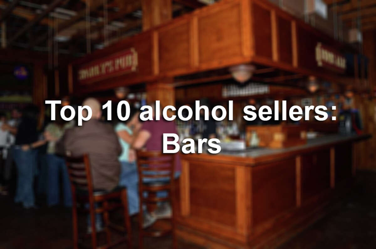 Here are the top 10 in alcohol sales for San Antonio bars.