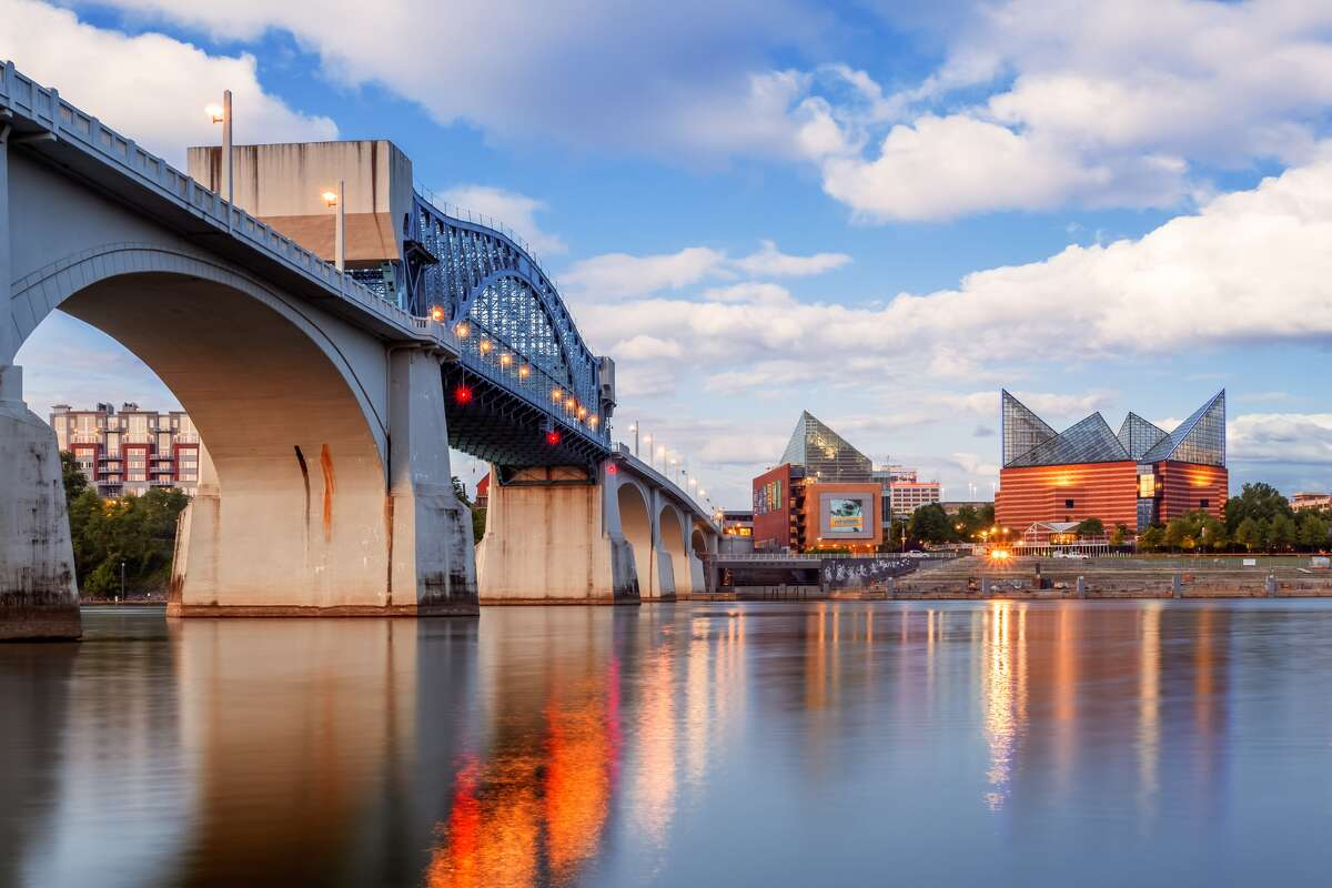 19. Chattanooga, Tennessee Average salary adjusted for cost of living: $81,918 Average salary: $73,644