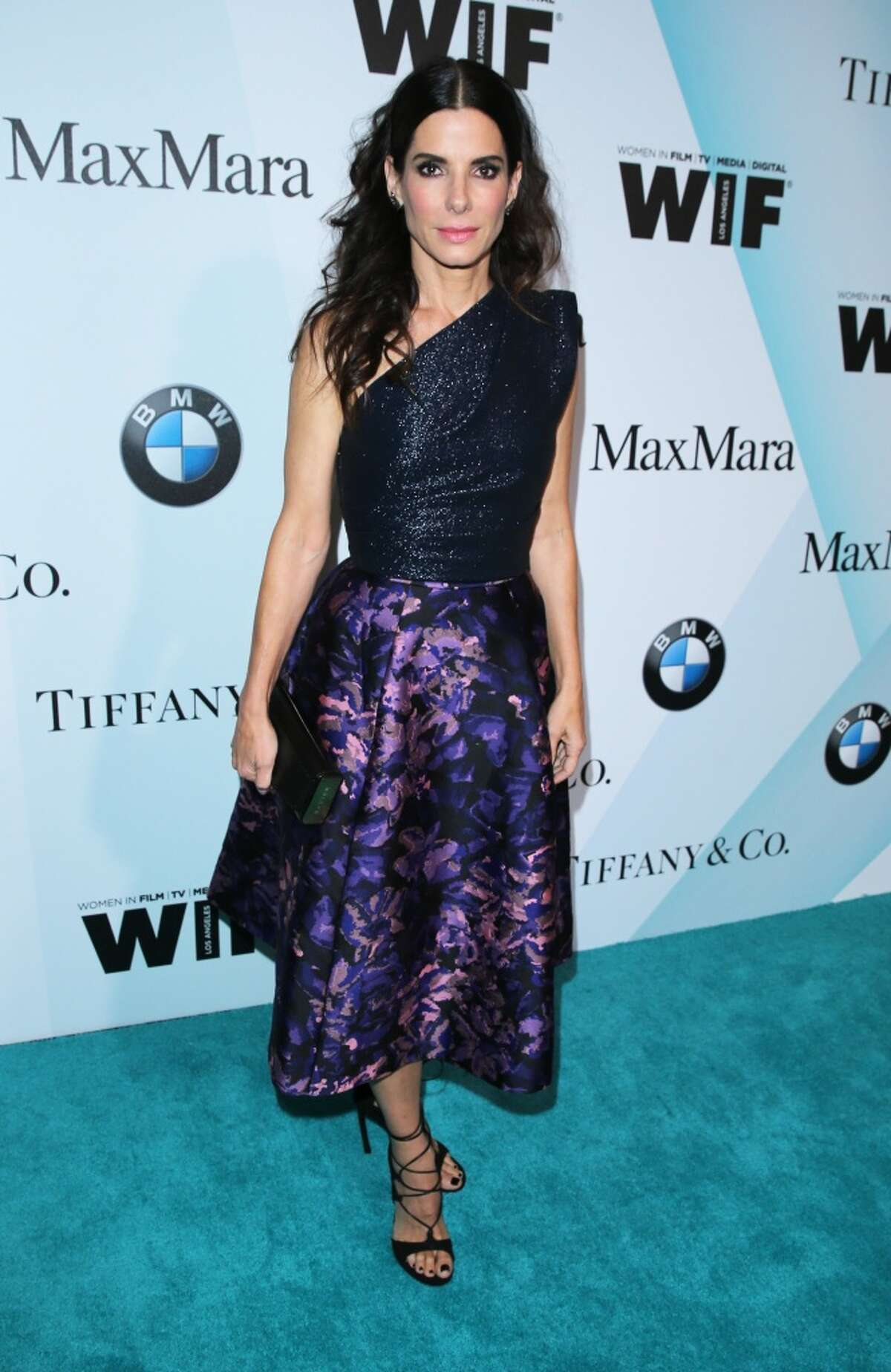 Actress Sandra Bullock, wearing Tiffany & Co., attends the Women In Film 2015 Crystal + Lucy Awards at the Hyatt Regency Century Plaza on June 16, 2015 in Century City, California. (Photo by Mark Davis/Getty Images for Women in Film)