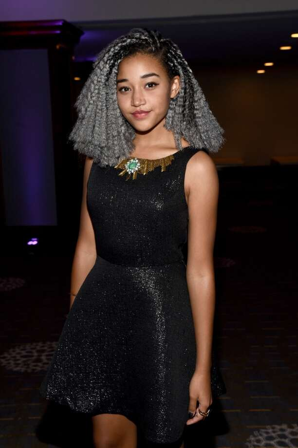 Actress Amandla Stenberg attends the Women In Film 2015 Crystal + Lucy Awards Presented by Max Mara, BMW of North America, and Tiffany & Co. at the Hyatt Regency Century Plaza on June 16, 2015 in Century City, California.  (Photo by Michael Buckner/Getty Images for Women in Film) Photo: Michael Buckner