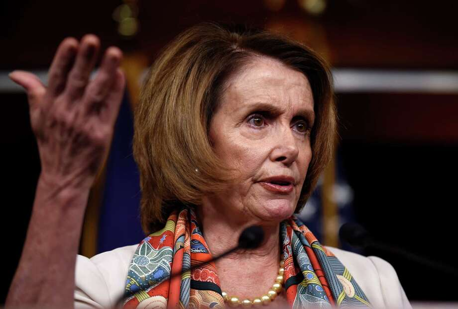 House Minority Leader Nancy Pelosi led congressional Democrats to cast a dangerously destructive vote against a trade agreement that would improve the lives of workers in many nations, including the United States. Photo: Susan Walsh /Associated Press / AP