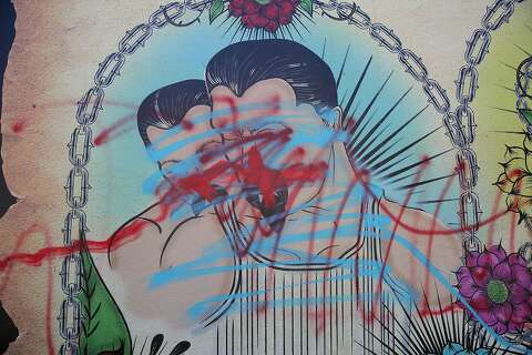 f4aa99359 Mission mural celebrating gay Latino and Chicano culture defaced ...