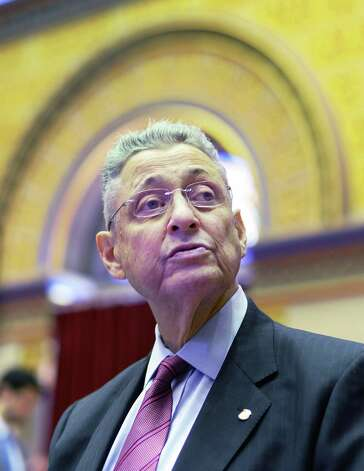 Assemblyman Sheldon Silver in the Assembly Chamber Wednesday June 17, 2015 at the Capitol in Albany, NY. (John Carl D'Annibale / Times Union) Photo: John Carl D'Annibale / 00032313A