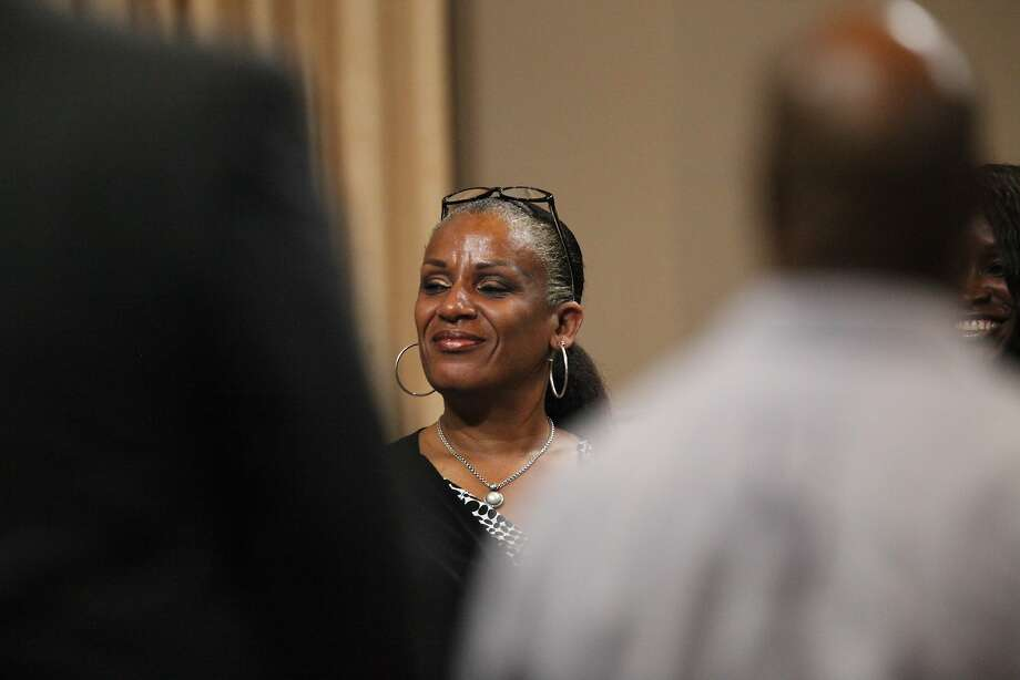 Oakland Councilwoman Desley Brooks pushed her plan for a department of race and equity at a council meeting in Oakland City Hall Wednesday evening. Photo: Cameron Robert, The Chronicle