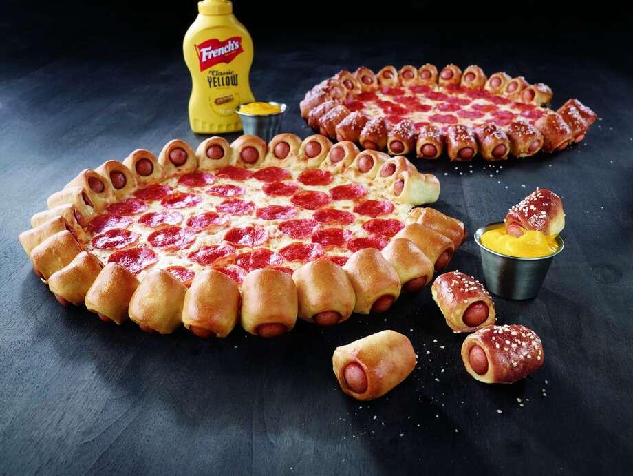 Pizza Hut's limited time special: Hot Dog Pizza Bites. Photo: Courtesy Photo / Pizza Hut