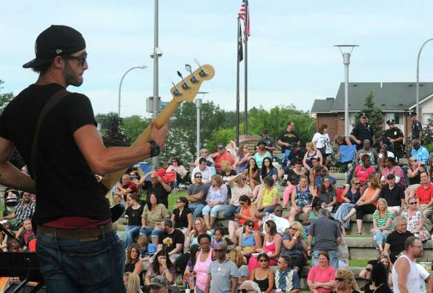 The LateShift performs during Rockin' On the River at Riverfront Park on Wednesday June 17, 2015 in Troy, N.Y.  (Michael P. Farrell/Times Union) Photo: Michael P. Farrell / 00032103A