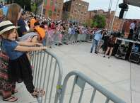 The LateShift performs during Rockin' On the River at Riverfront Park on Wednesday June 17, 2015 in Troy, N.Y.  (Michael P. Farrell/Times Union)